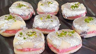 Bengali Sweet Malai Sandwich Recipe  Malai Chop Summer Special Sweet  Recipe