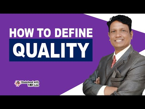 What is Quality? | Definitions & Dimensions of Quality | Total Quality Management (Hindi)