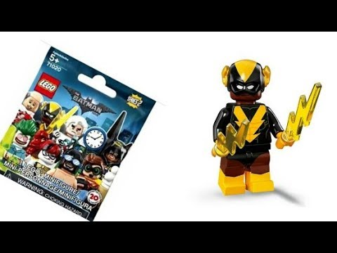 Black Vulcan Minifigure 20 The Lego Batman Movie Series 2-71020