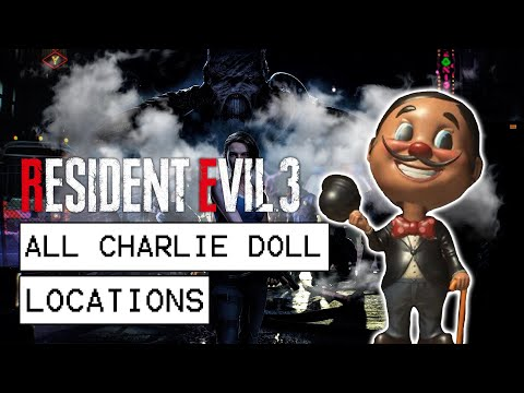Resident Evil 3 Remake All Charlie Doll Locations