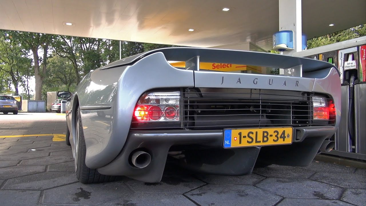 Jaguar Xj220 Start Up Revs Youtube