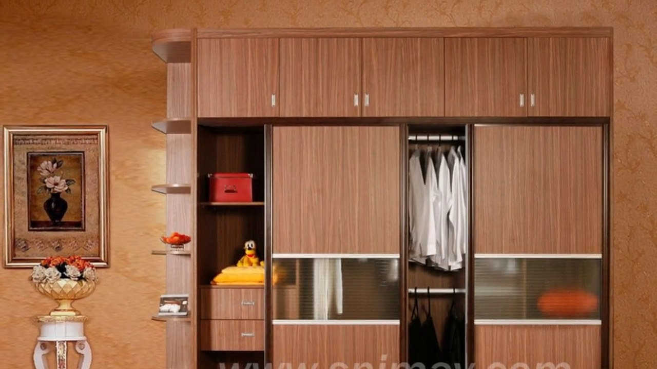 Cupboard Designs for Bedrooms Indian Homes - YouTube