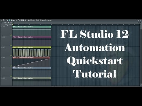 FL Studio 12 Automation Quickstart Tutorial - 95% of What You Need To Know in Less Than 5 Minutes