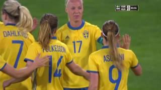 Algarve Cup: Sverige - Ryssland (2017.03.08)