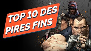 TOP 10 DES PIRES FINS DE JEUX VIDEO !