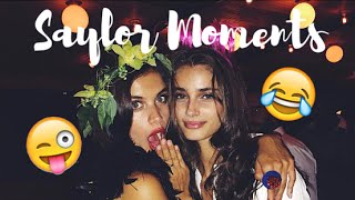 Best/Funniest Sara Sampaio and Taylor Hill Moments