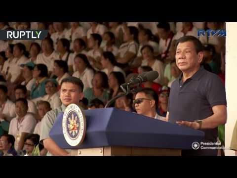 '50 times more brutal': Duterte promises death for ISIS militants after bomb plot foiled