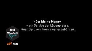 Der kleine Mann zieht in den Krieg | NEO MAGAZIN ROYALE mit Jan Böhmermann - ZDFneo