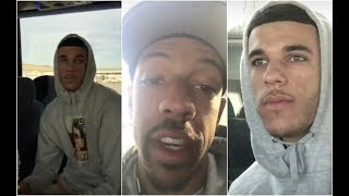 """Lonzo Ball tells Channing Frye """"the dumbest thing he"""