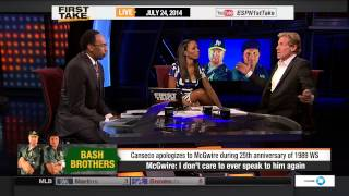 ESPN First Take - Stephen A. Preaching About Betrayal (Bash Brothers)
