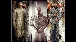 Grand wedding Sherwani dress