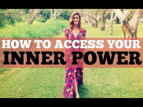 HOW TO ACCESS YOUR INNER POWER- Episode #42