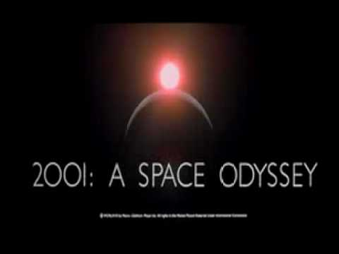 2001 - A Space Odyssey - Alex North title