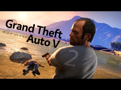 Let's Play GTA 5 Part 2 - Odd Jobs