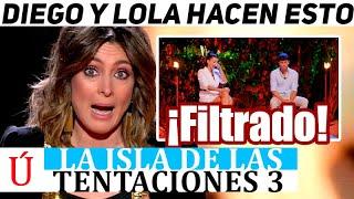 Sandra Barneda filtra por error la decisión de Diego y Lola en la hoguera de confrontación  La isla