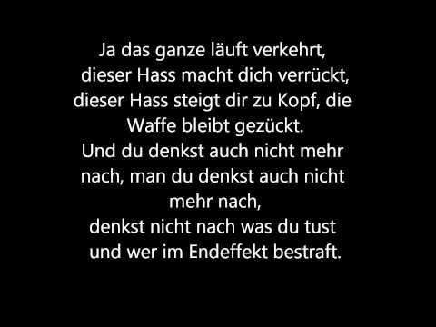 Bushido ft. Chakuza - Hass Lyrics Video HD
