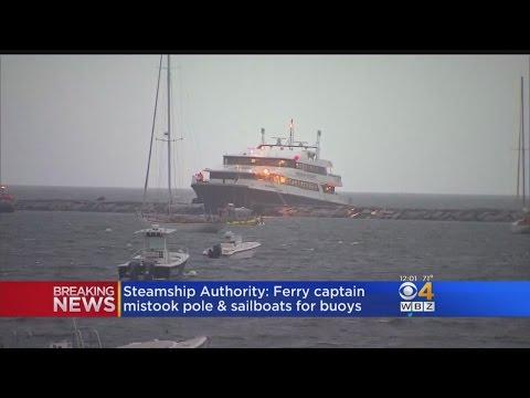 Steamship Authority: Ferry Captain Mistook Pole, Sailboats For Buoys