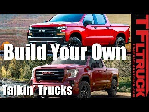 Configure Your Own 2019 Chevrolet Silverado And Gmc Sierra Talkin