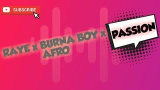 🔥[FREE VLOG MUSIC] PASSION - RAYE x Burna Boy x Afro de Rion Richard 🕺🏼No Copyright - Safe Music💯✔️