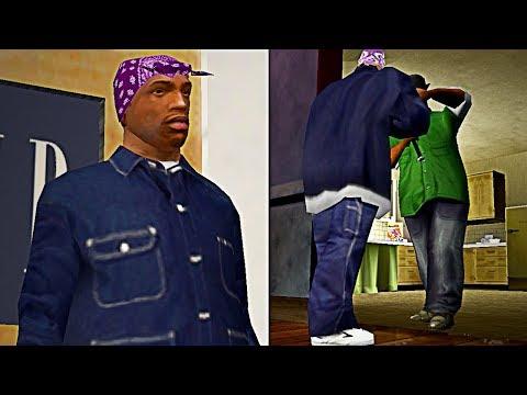Esto Ocurre si Vestimos a CJ como un Balla en GTA San Andreas