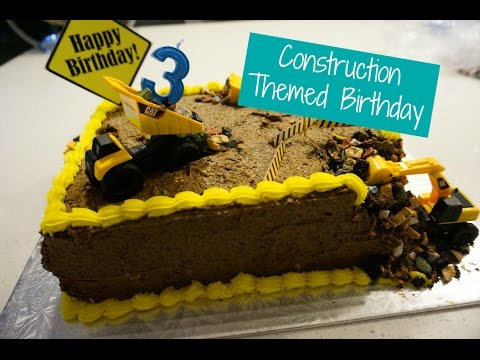 Construction Theme Birthday Party/DIY Paper Fan/Medallion Decoration