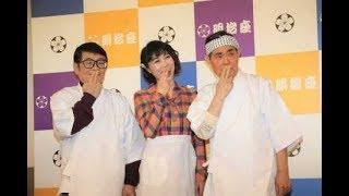 水森かおり 加藤茶&仲本工事と舞台で共演も…ドリフで一番好きなのは「...