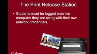 PaperCut & Print Release Stations