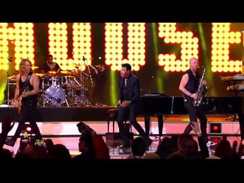 Lionel   Richie   --   Brick  House    Live  Video   HQ