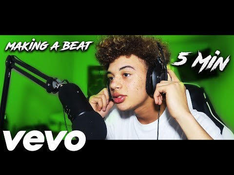 Making A Rap Beat In 5 Minutes...