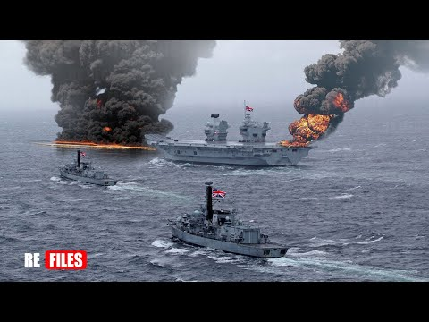 War begins (Jan 20,2021) China Navy fires Missiles to Warn UK Aircraft carrier & US Warships in SCS