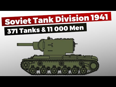 [Red Army] Tank Division June 1941 Organization & Structure