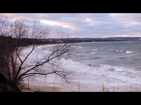 Cofka Na Zatoce Gdańskiej. Morze Porywa Plaże W Gdańsku Brzeźnie