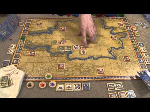 Game Fondue Reviews: Tigris & Euphrates