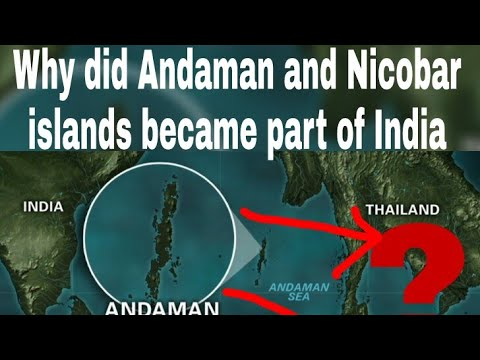 How did ANDAMAN AND NICOBAR became part of INDIAN TERRITORY????