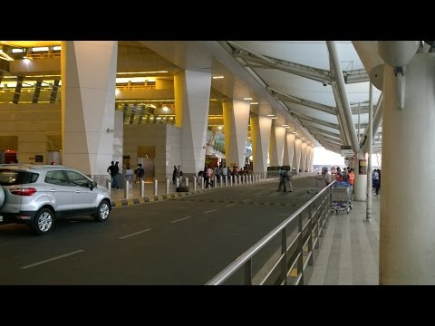 Indira Ganddhi International Airport IGI - New Delhi Airport - Terminal 3 مطار دلهي الدولي