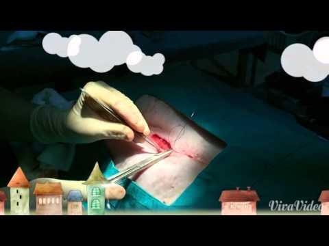 """""""การเย็บแผลผ่าตัด"""" โดย หมอต้อง กุลธาดา"""