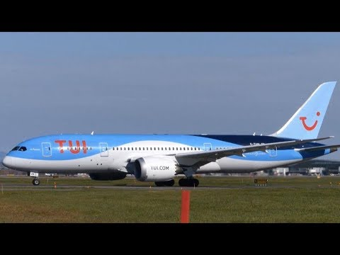 Diversion! TUI Boeing 787-8 Dreamliner at Quebec City Airport (YQB)