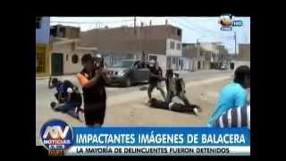Impresionante e Impactante balacera en el Callao Perú