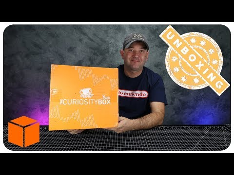 🔶 The Curiosity Box by Vsauce (Best Of Boxes Edition) Received January 2018 || Unboxing