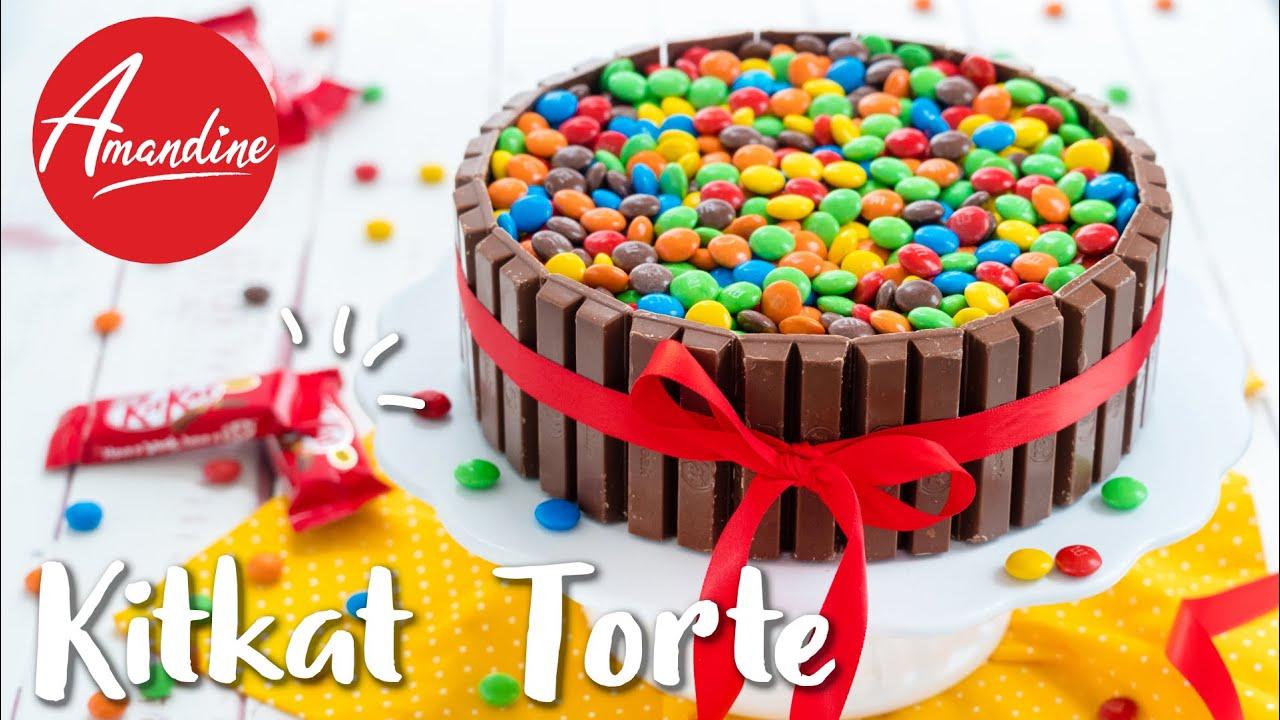 Kitkat Torte Backen Rezept Mit Smarties Schokoladentorte Geburtstag Smarties Torte Youtube