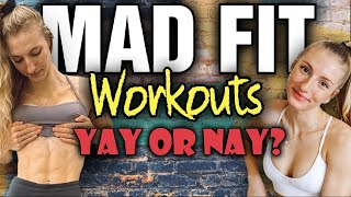 Good/Bad? Fitness Channel MadFit - Maddie Lymburner || Is She Natural?