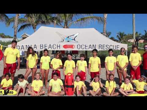 Junior Lifeguard Summer Camp - Dania Beach Ocean Rescue