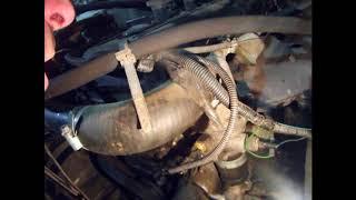 как поменять помпу на волге 406 двигатель +кат№