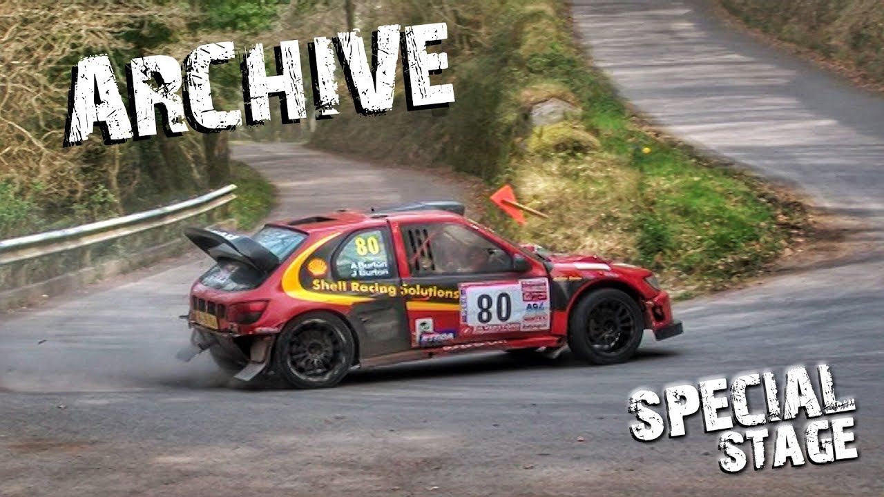 Física cielo Gruñón  Special Stage Archive - Andy Burton - Peugeot Cosworth - YouTube