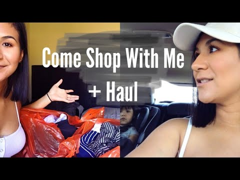 COME SHOPPING WITH ME + CLOTHING HAUL!