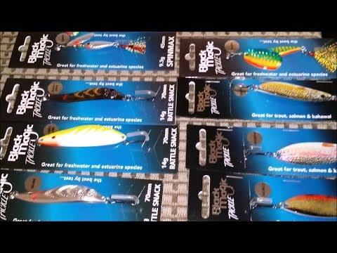 Unboxing Freshwater Black Magic Tackle - NZ Basic Fishing