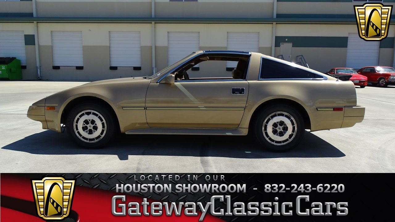 696 hou 1986 nissan 300zx gateway classic cars houston