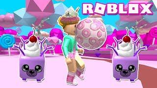 Roblox: Bubble Gum Simulator - Terra di caramelle e animali gemelli!
