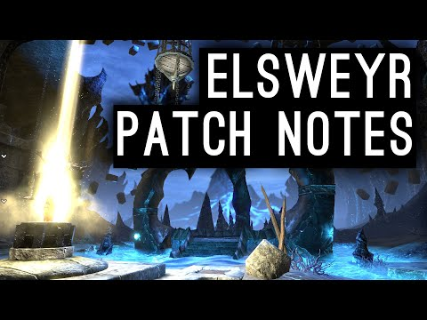 Elsweyr Chapter Patch Notes Discussion (Early Access May 20)