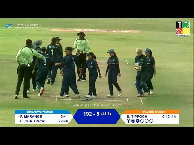 Zimbabwe Women vs Thauiland Women | 3rd One Day